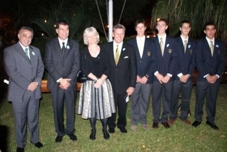 Estuvieron presentes la Embajadora de Gran Bretaña, Shan Morgan junto al Presidente del Honorable Concejo Deliberante, Julio Zamora, el Secretario de Promoción Comunitaria, Daniel Gambino, directivos y socios de la institución