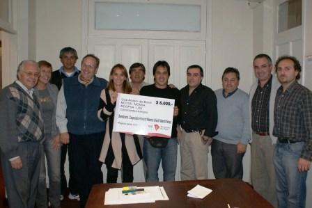 Donación al Hospital Materno Infantil de Tigre