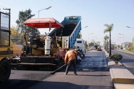 Progresan la obras de repavimentación en la Ruta 197