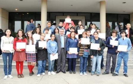 Asumieron los Concejales del Parlamento Juvenil de Tigre