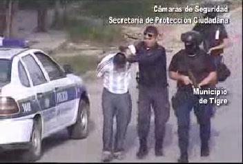 Tigre: robó, huyó y lo agarraron con las cámaras