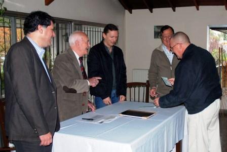 Del acto participaron el secretario de Promoción Comunitaria, Daniel Gambino, y el secretario de Gobierno del Municipio de Tigre, Eduardo Cergnul.