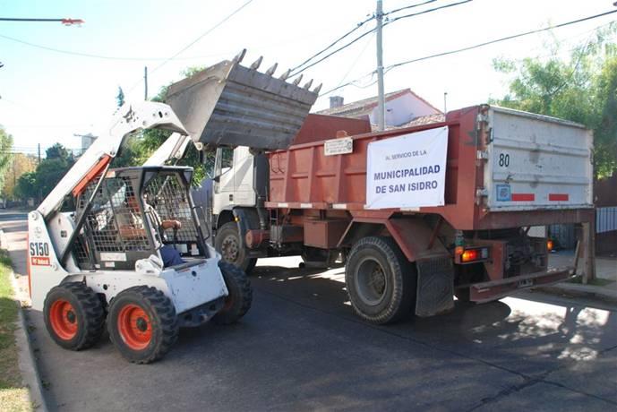 Más de 16.000 toneladas de escombros fueron retiradas en San Isidro