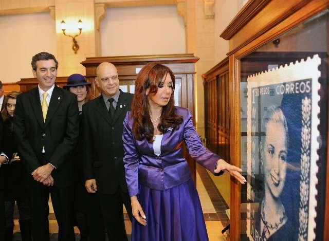 La Presidenta inauguró el Centro Cultural Bicentenario