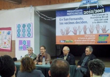 San Fernando: Se viene la segunda etapa del presupuesto participativo