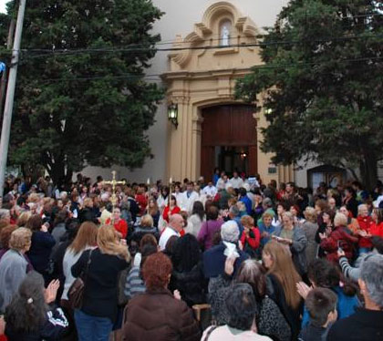 Celebraron en Boulogne las patronales de Santa Rita