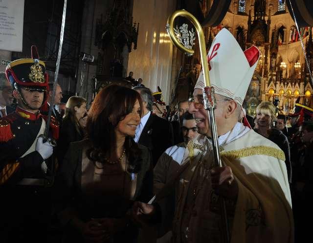 El arzobispo de Luján encabezó el Tedeum del bicentenario