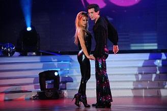 Lola Ponce enamora a Marcelo Tinelli y a todo el jurado de Showmatch