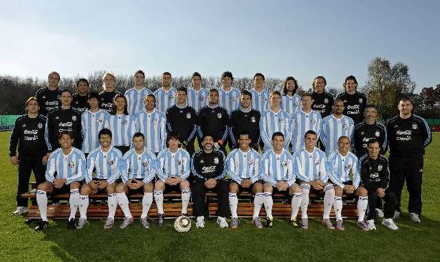jugadores Argentinos para el Mundial de Sudáfrica