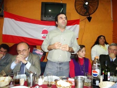 Acto de la unidad Radical en San Isidro