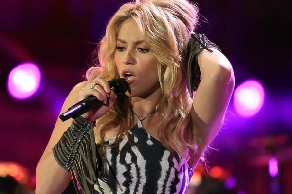 Shakira cerrará por tercera vez consecutiva un mundial de fútbol