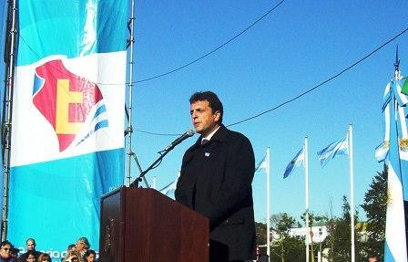 Gran festejo del Día de la Bandera en Tigre