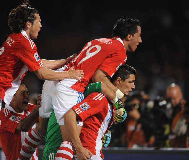 Paraguay ganó por penales a Japón