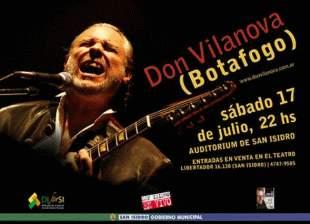 El recital se realizará dentro del Ciclo San Isidro en Vivo