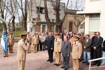 Amieiro junto a Prefectura Naval argentina en su bicentenario