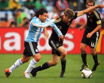 Argentina arranca dormida y pierde con Alemania