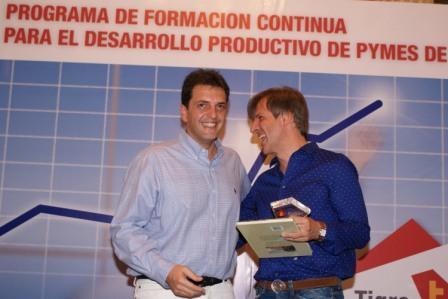Massa junto a Redrado