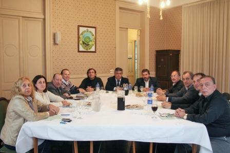 Intendentes de la Primera Sección Electoral se congregaron en San Fernando para evaluar la intensa semana de reuniones mantenidas con la Presidenta Cristina Fernández de Kirchner