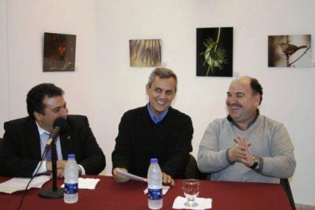 Bernardo Stamateas presentó su libro en el Concejo Deliberante de Vicente López