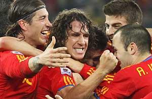 España derrotó a Alemania y jugará por primera vez la final de un mundial