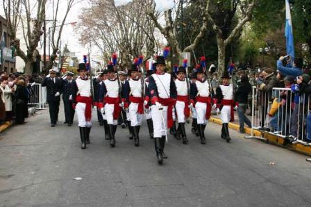 Actos por el día de la independencia en San Isidro