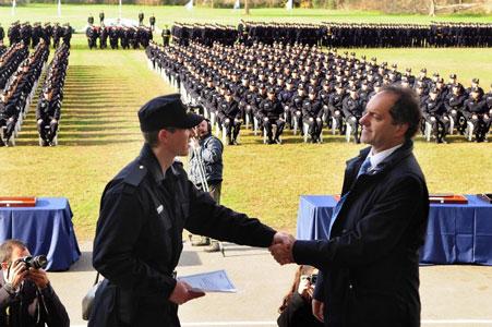 Rgreso de 332 cadetes de la escuela
