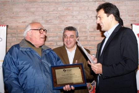 Tigre homenajeó a Edel Torrielli