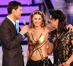 Pampita bailó cumbia obtuvo el mejor puntaje de la noche