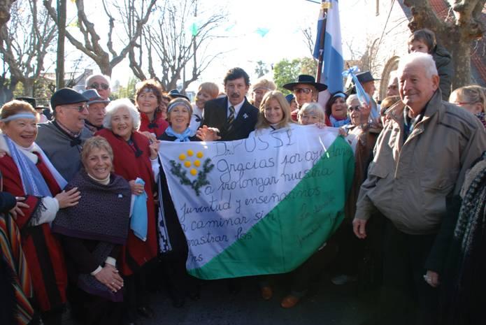 Se realizaron los actos por el día de la independencia San Isidro