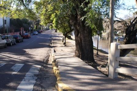 El Municipio de Tigre comienza la remodelación del Paseo Lavalle