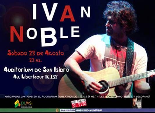 Iván Noble en San Isidro en vivo