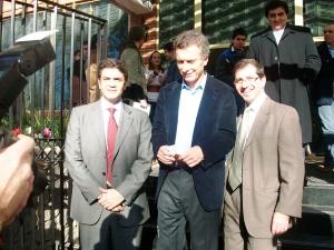 Mauricio Macri reunió con dirigentes del PRO en Vicente López