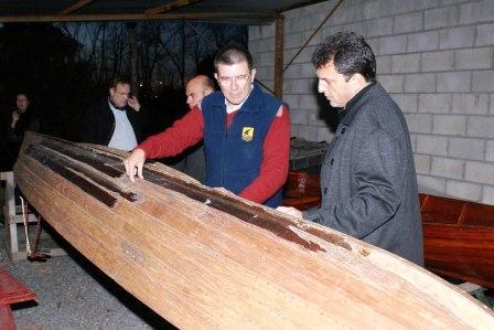 El Intendente de Tigre, Sergio Massa recorrió las instalaciones del Astillero Escuela y compartió junto a los trabajadores el crecimiento que vive el emprendimiento