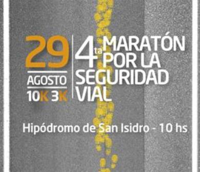 Se correrá en San Isidro la cuarta maratón por la seguridad vial