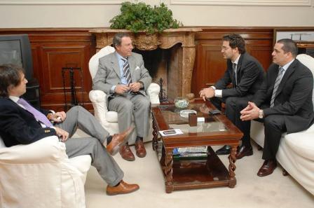 Reunión de Concejales del PJ San Isidro con el Ministro de Justicia y Seguridad Ricardo Casal