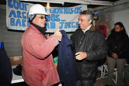 Más camperas para los trabajadores de las Cooperativas de Tigre