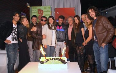 El elenco de Botineras celebró el final de la grabación de la tira