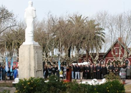 San Fernando recordó al Libertador San Martín