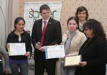 Premian a jóvenes emprendedores de San Fernando