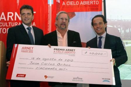 Se conocieron los ganadores del Premio Arnet a Cielo Abierto 2010