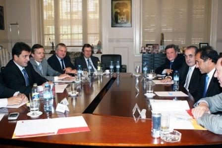 Massa recibió en Tigre al gobernador Scioli