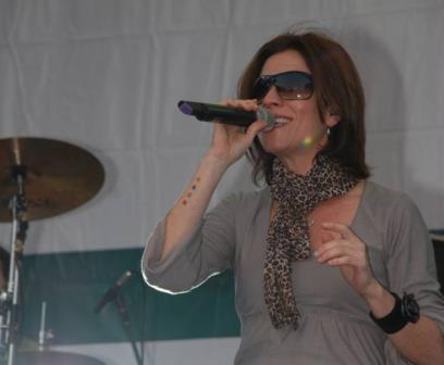 Marcela Morelo sacudió con su ritmo a Boulogne