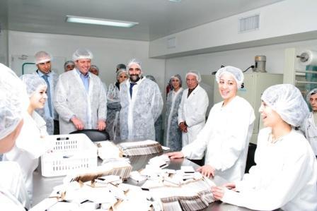 Deibe visitó el programa más y mejor trabajo en San Fernando