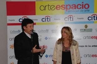 """Posse inauguró """"Arte Espacio"""""""