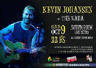 Kevin Johansen presenta su último disco en San Isidro
