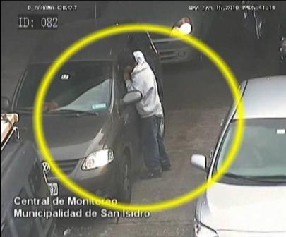 Detuvieron a joven que robaba a automovilistas en Paraná y Panamericana