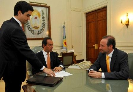 Gustavo Marangoni, portavoz oficial del gobierno provincial