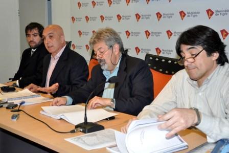 El Municipio de Tigre dió un informe sobre su plan de obras 2010/11