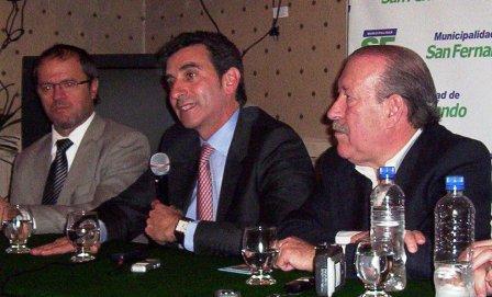 Florencio Randazzo visitó San Fernando en el marco de un operativo de documentación