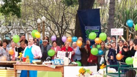 En San Fernando no hubo inconvenientes en festejos por el Día de la Primavera